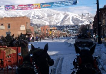 Main Street Steamboat Springs Winter Carnival