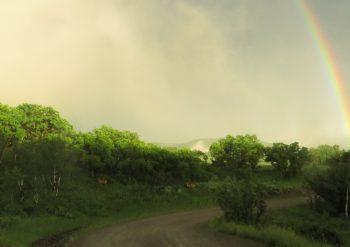 Rainbow at Big Creek Ranch
