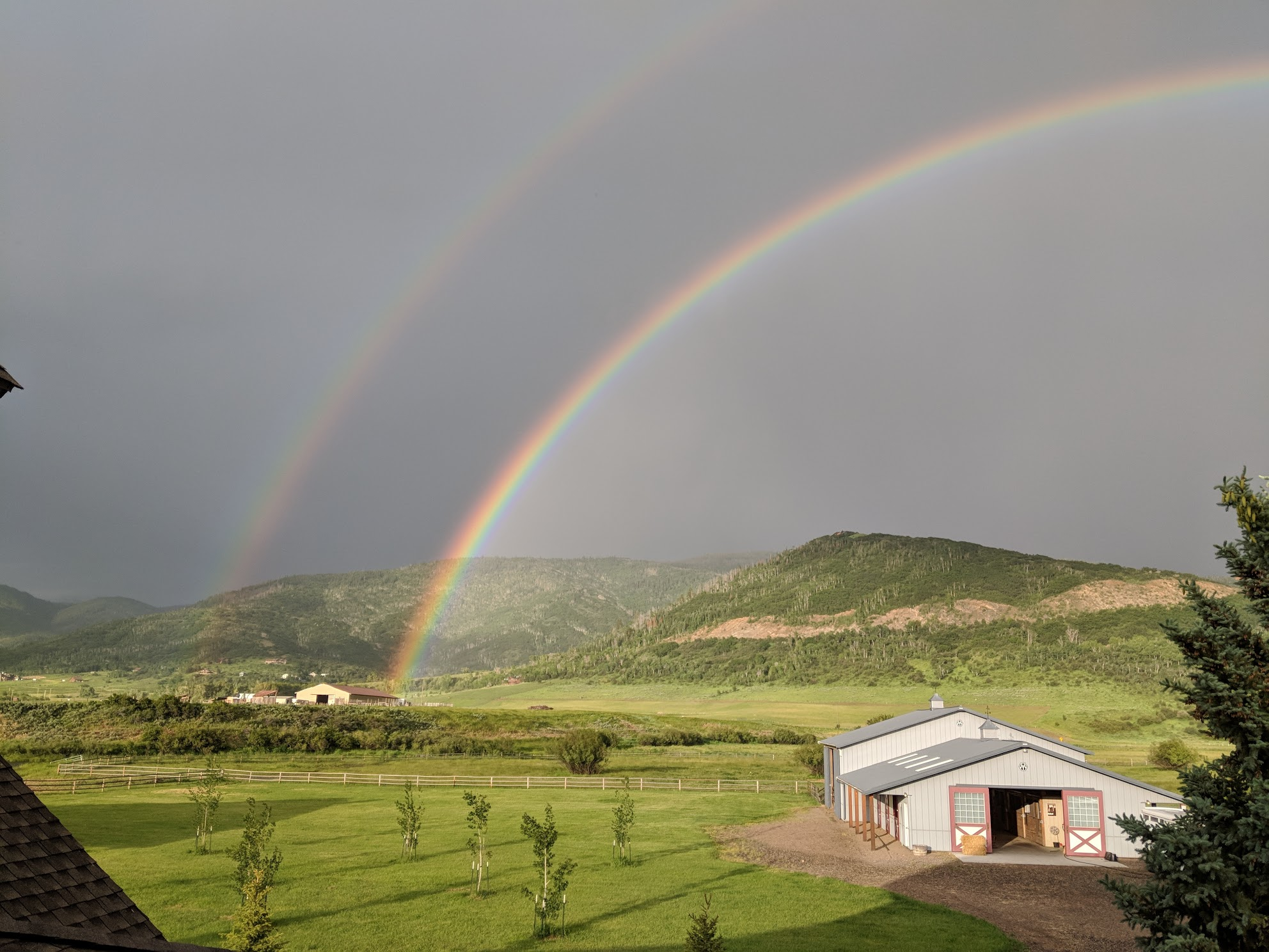 Rainbow over South Valley